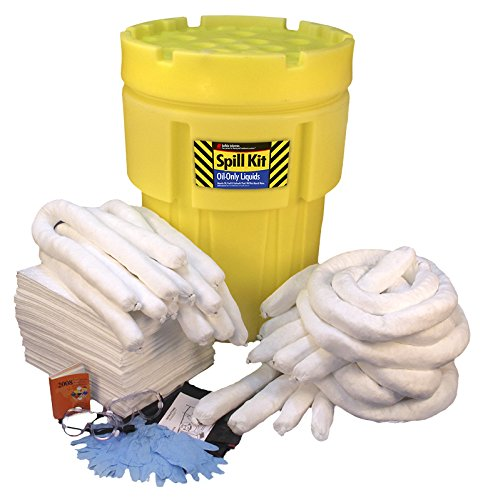 Buffalo Industries (92061 Oil Poly-Overpack Spill Kit, 65 Gallon ()