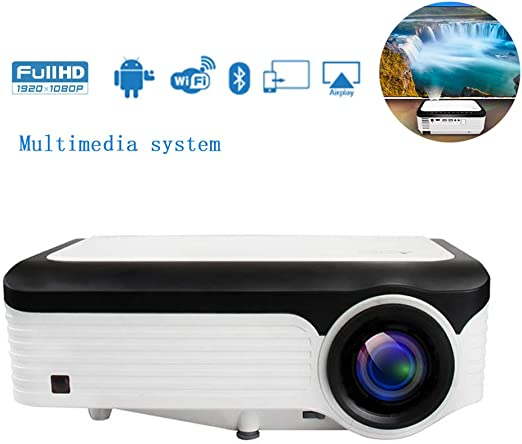 XRLTYY Proyector de Inicio, Compatible con 1080P, Reducción ...