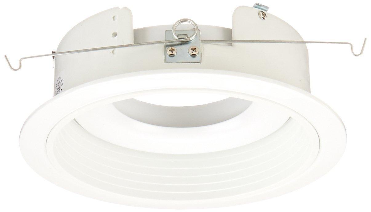Elco Lighting EL376W S 6'' Adjustable Phenolic Baffle Trim with Gimbal - EL376