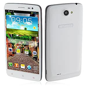 *Promoción* iNew M1 Smartphone Android 4.2 MTK6589 3G 1.2GHz Quad Core 1GB 16GB 5.0 Pulgada GPS Blanco