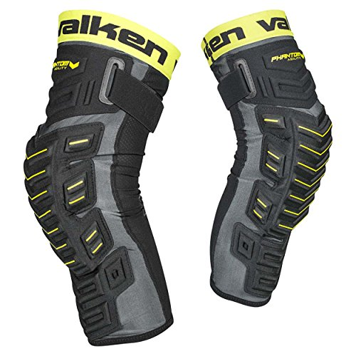 Valken Paintball Phantom Agility Knee Pads - Black - Large