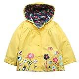 Elever Kids Toddler Lightweight Jacket Waterproof Outwear Raincoat Baby Girl