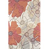 """Momeni Rugs SUMITSUM-8SND5076 Summit Collection, Hand Knotted Transitional Area Rug, 5' x 7'6"""", Sand"""