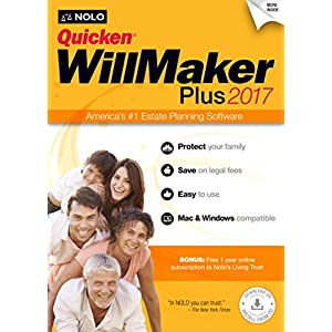 Quicken WillMaker Plus 2017 Software
