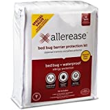 AllerEase Bed Bug Barrier Protection Kit XL Twin -- Zippered Mattress and Pillow Protector (XL Twin)