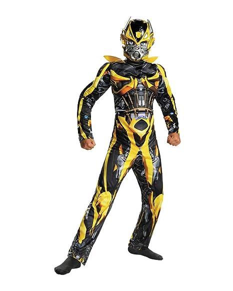 il più votato reale uomo prestazione affidabile Horror-Shop Costume per bambini Transformers Bumblebee M