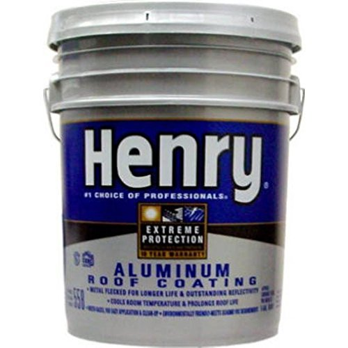 Henry Aqua-Bright Aluminum Roof Coating Aluminum 4.75 Gl ()