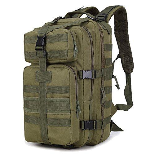 35L de libre portátil Verde gran caza viaje escalada senderismo impermeable táctica expansible militar trepando kaki bolsa al capacidad mochila aire trekking rFrwX