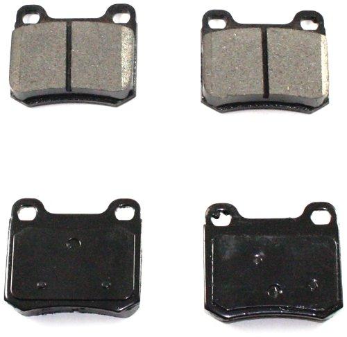 Transparent Red Hose /& Stainless Black Banjos Pro Braking PBK7315-TRD-BLA Front//Rear Braided Brake Line