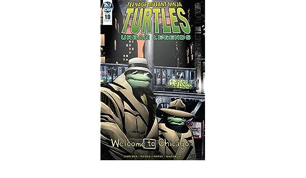Teenage Mutant Ninja Turtles: Urban Legends #10 (English ...