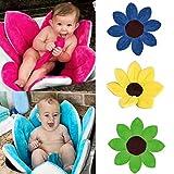 Baby Bathing Tubs and Seats,BAESKI Blooming Bath Flower Bath Tub for Baby Blooming Sink Bath For Baby Infant Lotus (Blue)