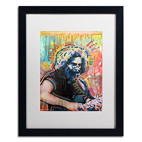 Giclee Antique Art Fine White (Trademark Fine Art Jerry 3 by Dean Russo, White Matte, Black Frame 16x20-Inch)