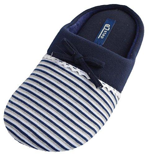 Pantofole Ezstep Da Donna In Giada Blu