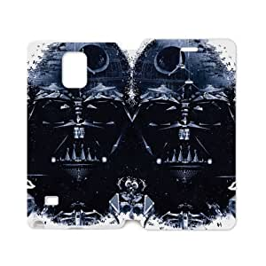 New Fashion Handsome Domineering Skull Star Wars Samsung Galaxy note 4 Case Cover (Laser Technology)
