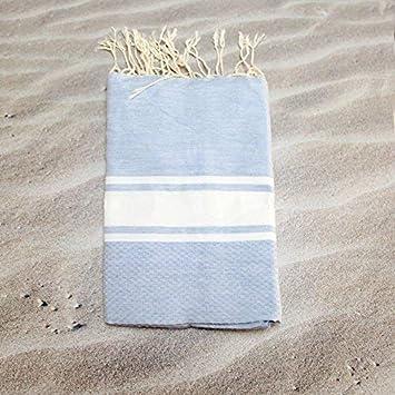 Maldivas luz azul – 100% algodón – toalla de baño, 100 cm x 200