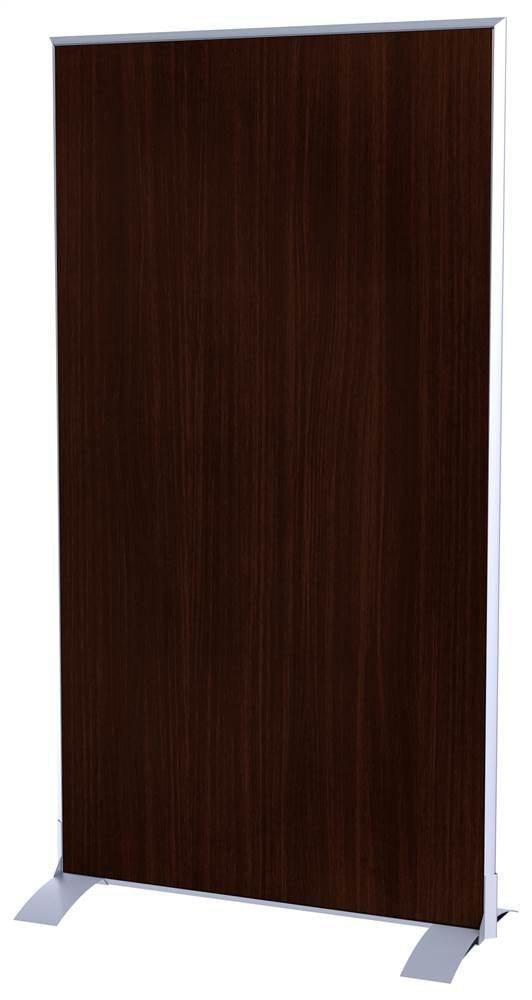 Paperflow EasyScreen Vertical Divider Screen - Wenge by Paperflow (Image #1)
