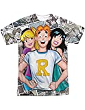 Archie, Betty, Veronica Riverdale Licensed Sublimated T-Shirt