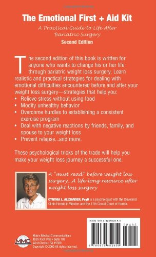 The Emotional First + Aid Kit: A Practical Guide to Life After Bariatric Surgery, Second Edition