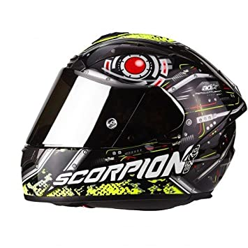 Scorpion Casco Moto exo-2000 Evo Air lalatte Replica, multicolor, talla XS