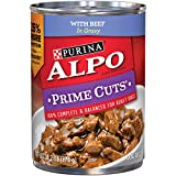 Purina ALPO Prime Cuts With Beef in Gravy Dog Food...