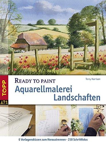Aquarellmalerei Landschaften (Ready to paint)
