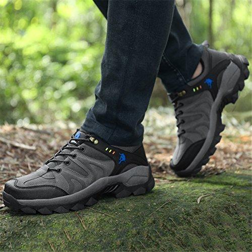 ddc89398 Buena Zapatos de Trekking Montaña Escalada Calzado Deportivo Hombre ...
