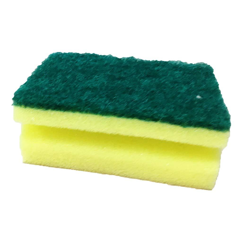 GXOK Multi-Function Cleaning Brush,High-Density Dishwashing Sponge for Kitchen Cleaning Nano-Cotton