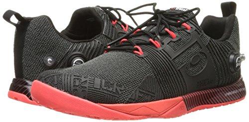 Reebok Women's r Crossfit Nano Pump FS-w Cross-Trainer Shoe, Black/Neon Cherry, 7 M US by Reebok (Image #6)