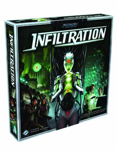 Infiltration - Infiltration Board Game