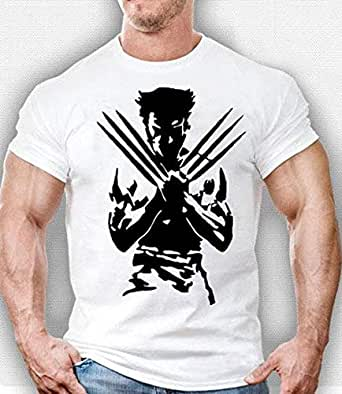 wolverine t-shirt white color