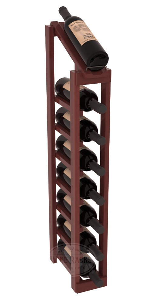 Wine Racks America Redwood 1 Column 8 Row Display Top Kit. 13 Stains to Choose From!