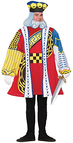 King of Hearts Playing Card Adult (King Of Hearts Costume)