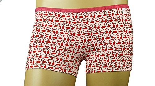 corto design un fiore per offre e e comodo di divertente Bianco rosso signore MySocks vite pugile con le fqIwAHvZ