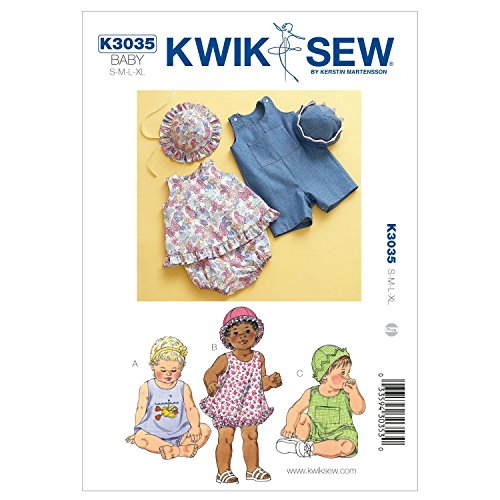 (Kwik Sew K3035 Sundress Sewing Pattern, Bloomers)