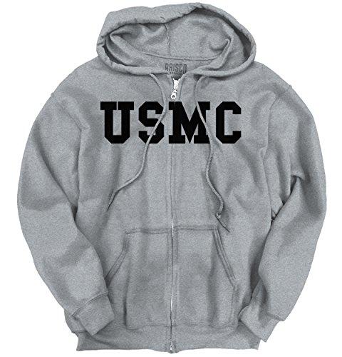 Usmc Zipper Sweatshirts - 1