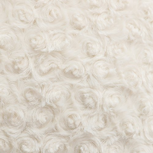 """LANANAS Luxury Soft Plush Faux Fur Throw Pillow Covers for Couch Decorative Mongolian Fur Throw Pillow Covers Pack of 2 (18""""x 18"""", Pearl White)"""