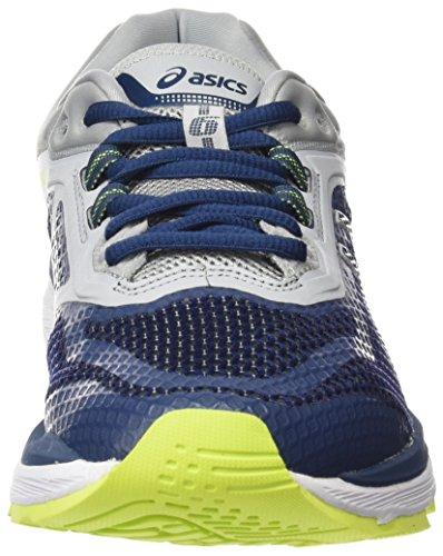 Asics Gt-2000 6, Scarpe Running Uomo Blu (Dark Blue/Dark Blue/Mid Grey 4949)