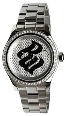 Buy Rocawear Mens Rg348040 Signature Flame Stainless Steel Watch
