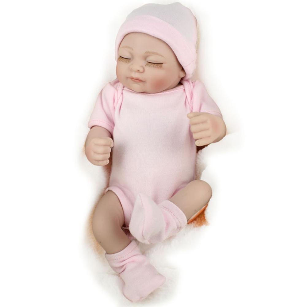 シミュレーションllzj Rebornベビー人形ソフトSiliconeビニールLifelikeおもちゃ新生児リアルなボディ誕生日プレゼントギフトandmadeダミーマグネットピンク   B07BBCQYD2