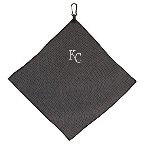 """Team Effort MLB Kansas City Royals 15"""" x 15"""" Grey Microfiber Towel15 x 15"""" Grey Microfiber Towel, NA"""