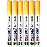 6 ungiftige Teststifte Testtinten für Oberflächenspannung von 32 bis 42 mN/m dyn