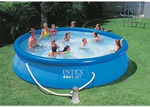 Piscina Gonfiabile Easy Set Intex In PVC ad Anello con Pompa ...