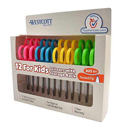 Westcott School Scissors Pointed Assorted