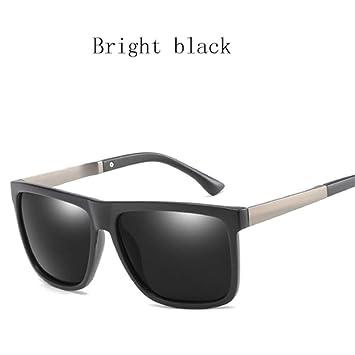 Burenqi Gafas de Sol cuadradas Hombres Mujeres diseñador de ...