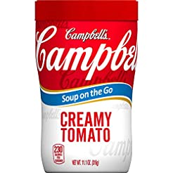 Campbell's Soup on the Go, Creamy Tomato...