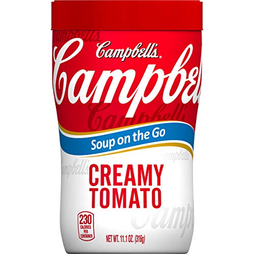 Campbell's Soup on the Go, Creamy Tomato, 10.75 Ounce (Pack of ()