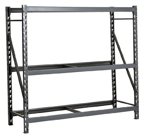 Edsal - ERU484872S - Starter Bulk Storage Rack with None Decking and 3 Shelves, 48W x 48D x 72H