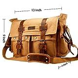 """GEARONIC 14""""-17"""" Men's Messenger Bag Laptop Satchel"""