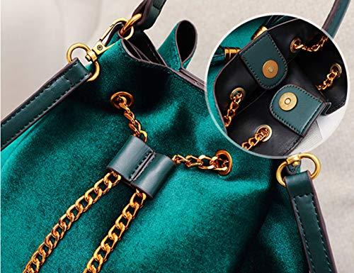 La Nouveau De Sac À Main Des Green Simple Seau Glands Femme x7XqwIUXr