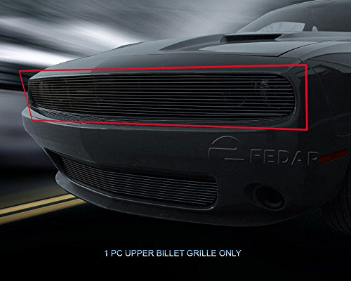 - Fedar Main Upper Billet Grille Insert for 2015-2018 Dodge Challenger